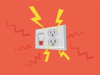 Normas básicas para evitar la electrocución