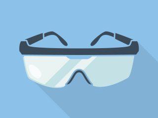 Solo tienes dos ojos, no te olvides de las gafas de seguridad