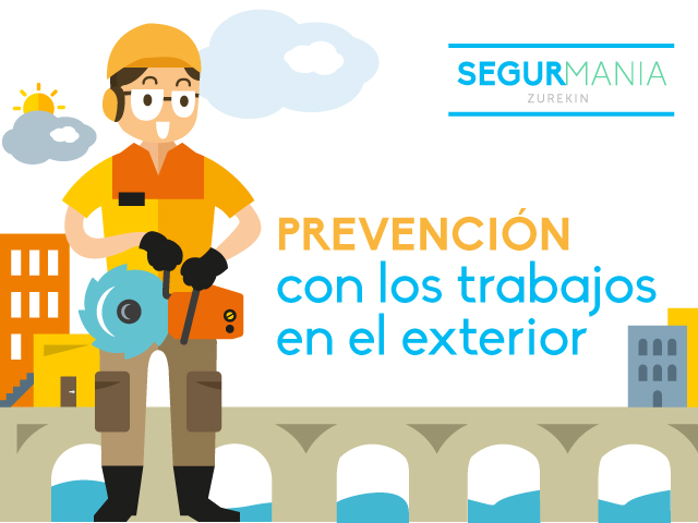 Prevención con los trabajos en el exterior