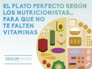 El plato perfecto según los nutricionistas…para que no te falten vitaminas encima del andamio
