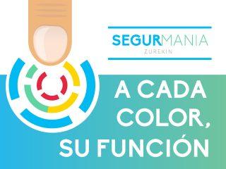 A cada color, su función