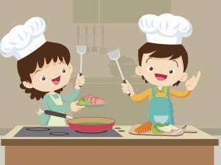 Con peques en la cocina, la prevención debes reforzar