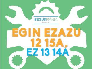 EGIN EZAZU 12 15A, EZ 13 14A