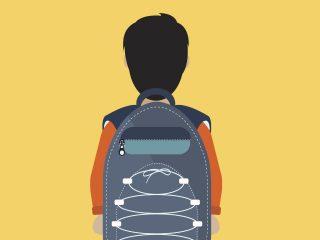 Vuelta al cole segura. ¿Cuánto peso puede arrastrar mi hijo/a en la mochila con ruedas?