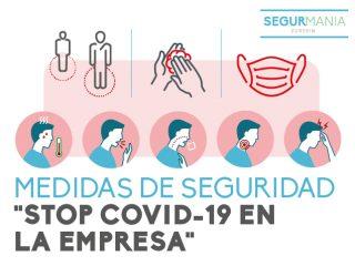 """ACTUALIZACIÓN 7 NOVIEMBRE. MEDIDAS DE SEGURIDAD """"STOP COVID-19 EN LA EMPRESA"""""""