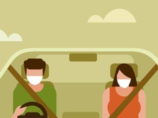 Seguridad vial y COVID 19. ¿Mascarillas, un riesgo para la conducción?