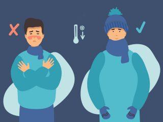 Medidas de prevención para trabajar a temperaturas extremas